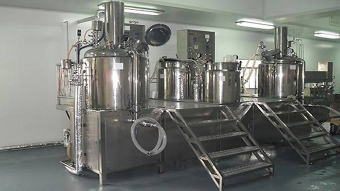 Blending and mixing plant - Contract Manufacturing - OEM