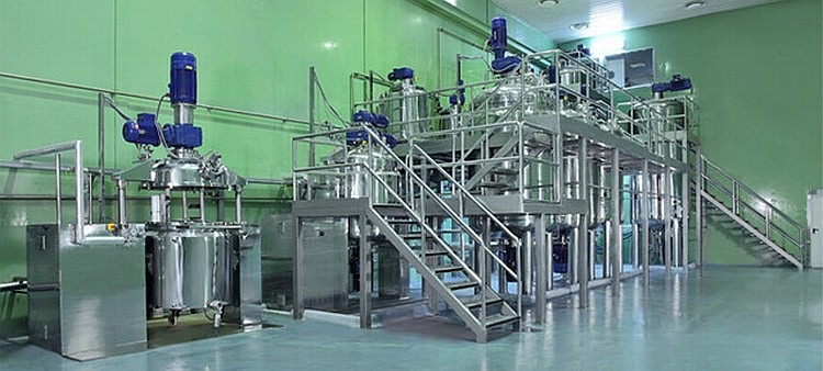 Blending and mixing plant - Contract Manufacturing