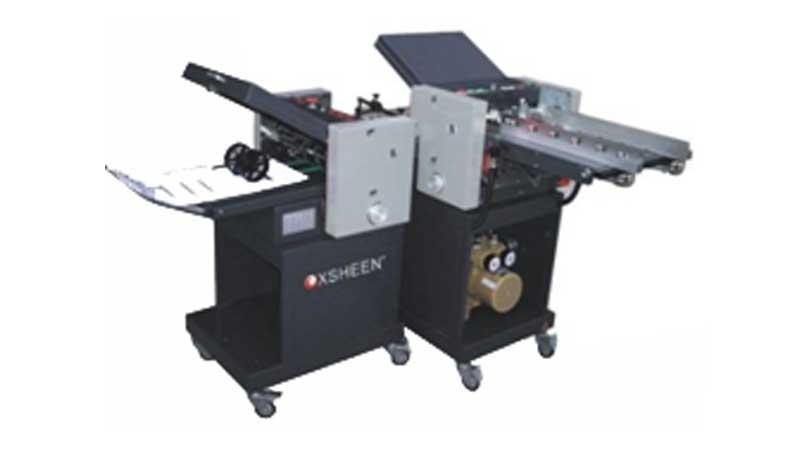 Cross Paper Folding Machine Friction Vacuum Feed Paper